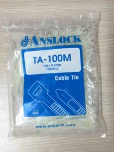 Lạt nhựa Anslock TA 100M